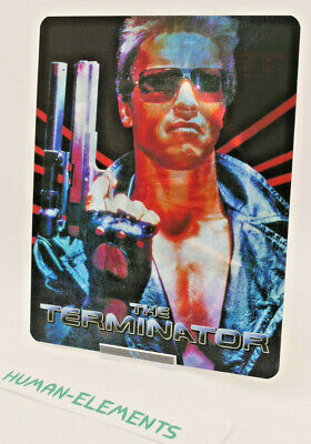 THE TERMINATOR - Lenticular 3D Flip Magnet Cover FOR bluray steelbook