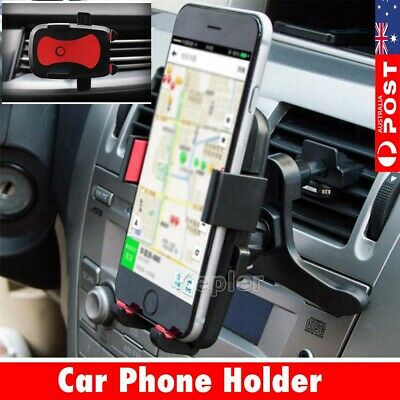 Air Vent Car Phone Holder Cradle Mount Stand Fr Samsung Galaxy S9 10 Plus Note 8