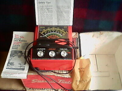 Boxed Snap-On Mt926A Automotive Multimeter Meter Scales Tachometer With Info