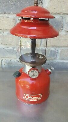 """Vintage Coleman Model 200A """"The Sunshine Of The Night"""" Single Mantle Born 1/66"""