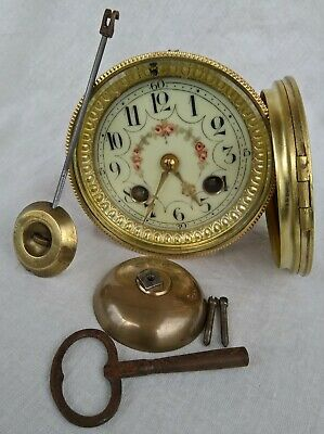 complete small french clock movement for a mantle clock