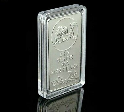 1 Oz 999 Silver Bullion Bar American Prospector US Union Metal