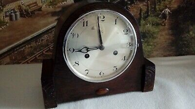 HAC  Mantle clock in excellent restored serviced working condition