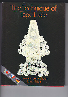 The Technique Of Tape  Lace Book