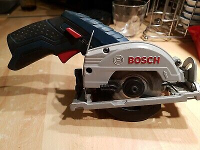 Bosch Professional GKS 10.8 V-LI Circular Saw/used Body Only.
