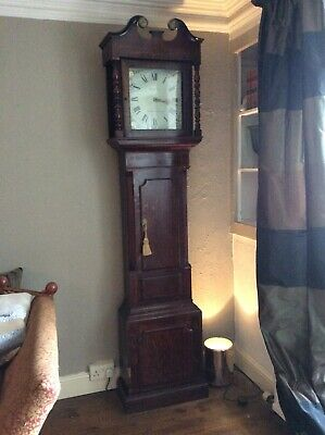 James Musgrove Burton-on-Trent Victorian Longcase Clock