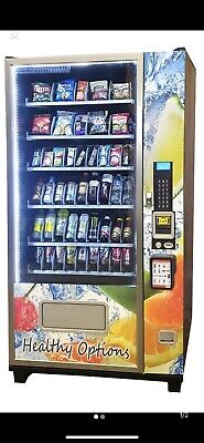 healthy vending machine. Price Includes $300 Credit Card Reader.