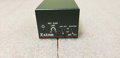 Extron MP 101 Microphone Preamplifier