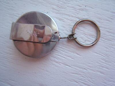 Vintage Oxwall Retractable Key Chain Holder Made In Japan