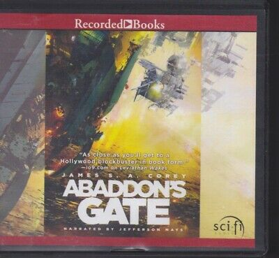 ABADDON'S GATE by JAMES S.A. COREY ~UNABRIDGED CD AUDIOBOOK
