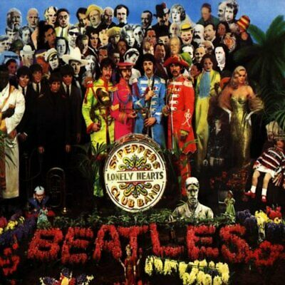 The Beatles - Sgt. Pepper's Lonely Hearts Club Band - The Beatles CD AULN The