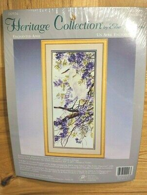 Heritage Collection by Elsa Williams Rare Enchanted April Crewel Embroidery Kit