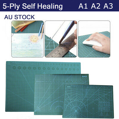 Large Thick Self Healing Cutting Mat Double-Side Art Craft DIY A1 A2 A3 Au Stock