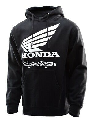 Troy Lee Designs HONDA WING CREW Charcoal Pullover//Jumper//Sweatshirt Motocross