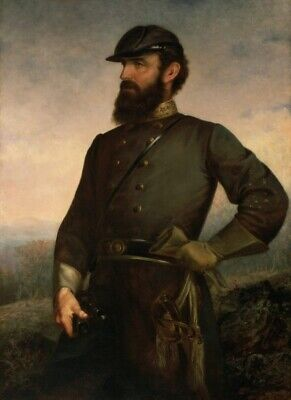 """high quality oil painting handpainted on canvas """"Stonewall Jackson """""""