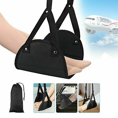 Comfy Hanger Travel Airplane Footrest Hammock Foot Made with Memory Foam Hot