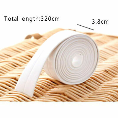 Waterproof Adhesive Tape Tool Glue PVC Mold Proof Bathroom Kitchen Wall Sealing