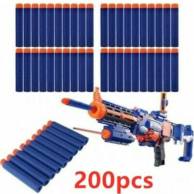 Bullets For NERF Guns Refill Soft Darts Fit Elite N-Strike Round Blaster Kid Toy