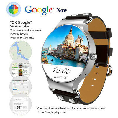 Bluetooth Smart Watch WIFI 3G GPS Smartwatch Google Map for Android Phones Mens