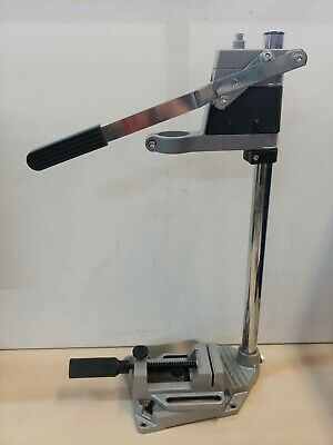 Powerfix Profi+ Drill Stand & Quick Clamp Bench Vice @33D