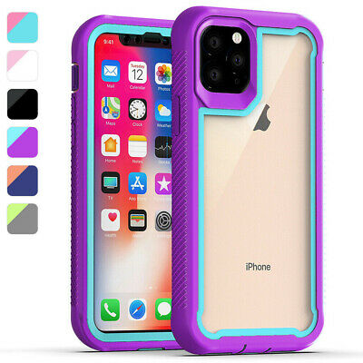 For Apple iPhone 11/Pro/Max Case Heavy Duty Rugged Bumper Clear Back Phone Cover