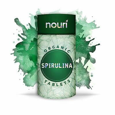 Organic Spirulina Tablets in Premium Quality, 1000 x 500mg | Certified Organic |