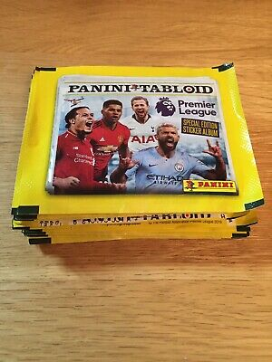 Panini Tabloid Premier League 2019 Sticker Packets