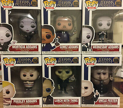 Funko The Addams Family 2019 - Mysterious and Spooky Pop! Vinyl Bundle Set of 6