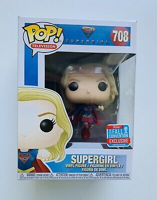 Funko Pop! Supergirl (flying) #708- 2018 Fall Convention Excl NYCC