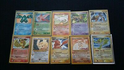 Pokemon Card Lot - Gold Star, Shining, GX, EX, Prime, Lv.X, Vintage Pack, 37/400