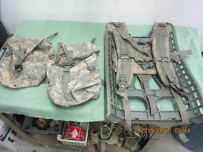 Military Acu Molle Large Ruck Sack Field Pack Frame Sustainment Shoulder Straps
