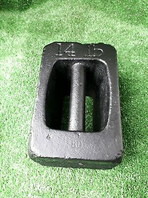 14Lb Cast Iron Weight Cast Iron Door Stop Weight (719)
