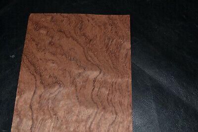 Bubinga Raw Wood Veneer Sheets 6 x 29 inches African Rosewood       8627-43