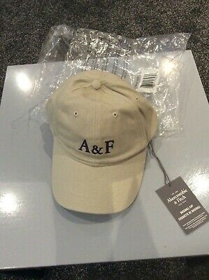 Unisex Abercrombie & Fitch, Baseball Cap - Beige Taupe colour Brand new