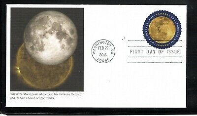 2016 Sc #5058 $1.20 Global Forever- The Moon Fleetwood cachet FDC
