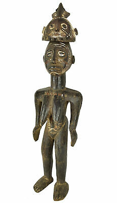 Mossi Standing Female Figure Burkina Faso African Art Collection