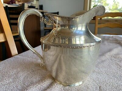 Wilcox S.P. CO Silver Pitcher