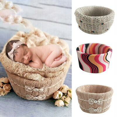 Round Shape Posing Baskets Universal for Newborn Baby Photography Props