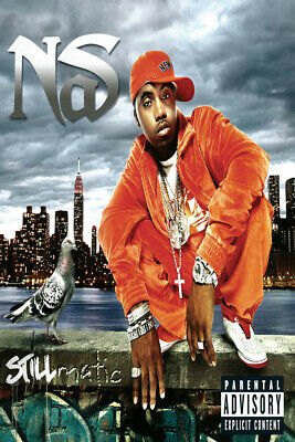 Illmatic Nas Cover Poster The Best Rap Album Of All Time Poster fabric decor W59