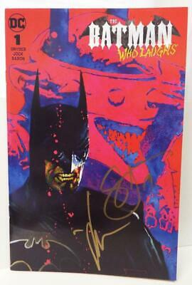 SDCC 2019 Excl. BATMAN WHO LAUGHS # 1 Variant SIGNED by SCOTT SNYDER & JOCK +COA