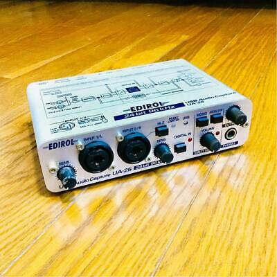 Roland Edirol UA-25 USB & MIDI Audio Interface capture 24 BIT Japan F/S