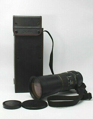 Excellent+++ SIGMA APO 170-500mm F5-6.3 Lens for SONY from JAPAN #3923