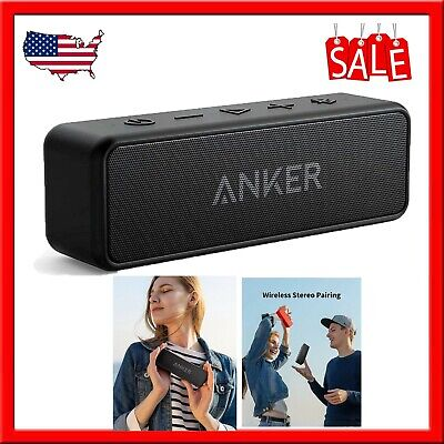 [Upgraded] Anker Soundcore 2 Portable Bluetooth Speaker with 12W Stereo Sound, B