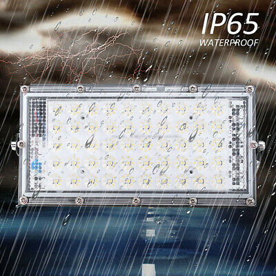 50W/100W/150W LED Flood Light Spot Outdoor Lamp White Light Garden Landscape
