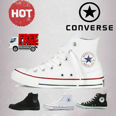 Mens Womens Converse Chuck Taylor All Star High Hi Tops Trainers Walking Shoes