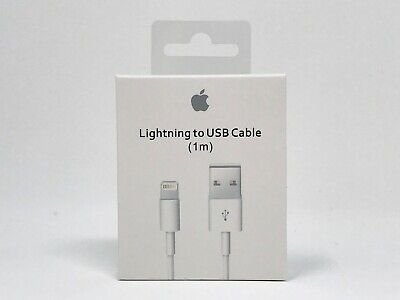 Genuine OEM Apple iPhone X 8 7 6 5 Plus Lightning USB Charger Cable 1m/3ft