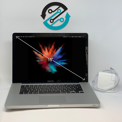 "15"" APPLE MACBOOK PRO UPGRADED/🔥INTEL CORE i5/ 8GB / 1TB SSDH 🔥2 YEAR WARRANTY"