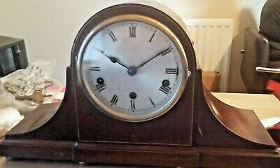 Vintage German  8-Day Floating Balance Clock with Westminster Chimes