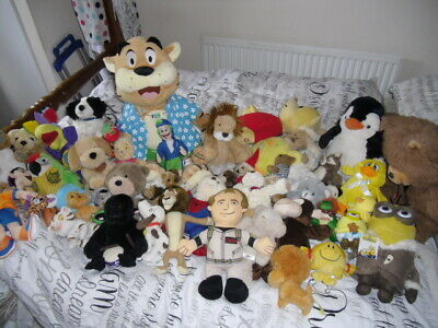 car boot stock 50 mixed cuddly toys