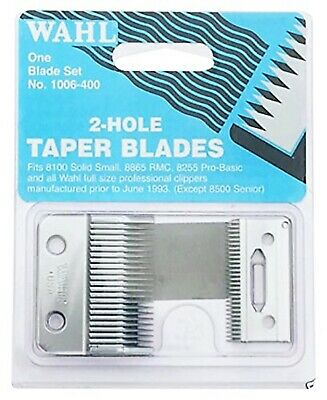 Wahl 2 Hole Replacement Blade Set For Sterling 4, Super Taper, Taper 2000